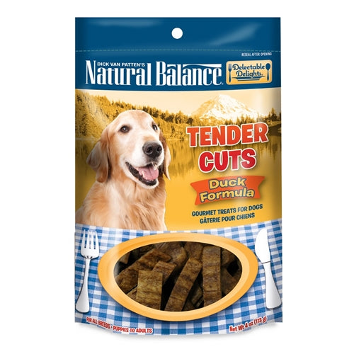 Natural Balance Delectable Delights Duck Tender Cuts Dog Treats