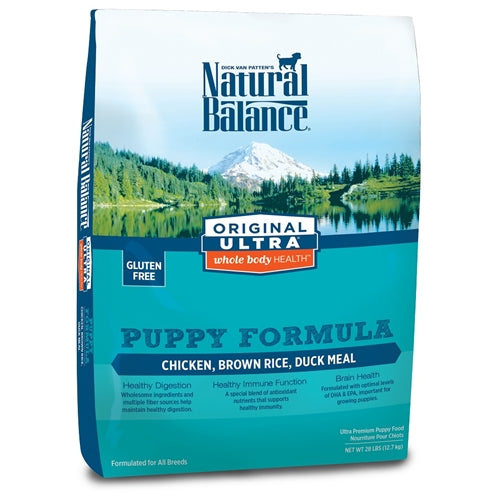 Natural Balance Original Ultra Whole Body Health Chicken Duck Brown Rice Dry Puppy Dog Food