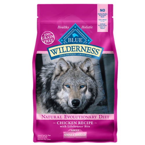 Blue Buffalo Wilderness Grain Free Chicken Small Breed Adult Dry Dog Food