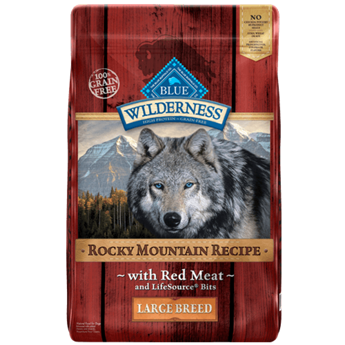 Blue Buffalo Wilderness Grain Free Rocky Mountain Red Meat Large Breed Adult Dry Dog Food
