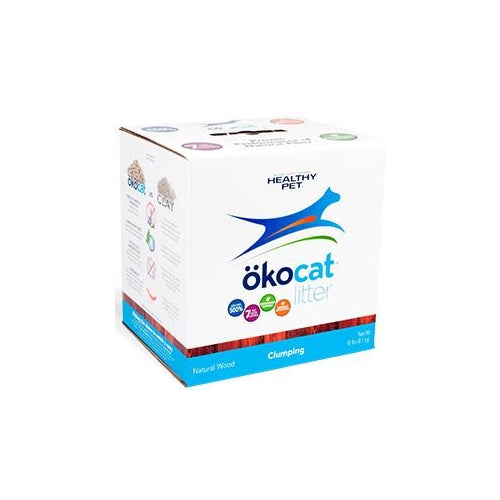 ökocat Natural Wood Clumping Litter