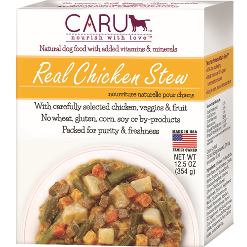 Caru Natural Chicken Stew for Dogs