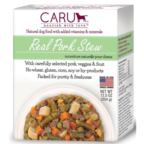 Caru Natural Pork Stew for Dogs