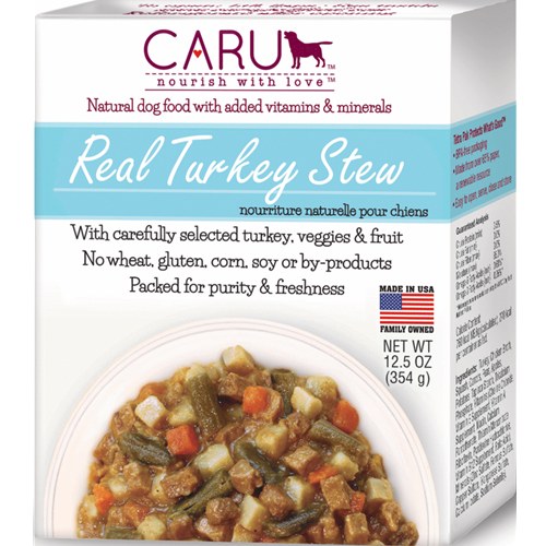 Caru Natural Turkey Stew for Dogs