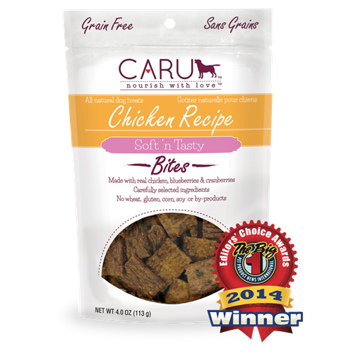 Caru Natural Chicken Recipe Bars for Dogs