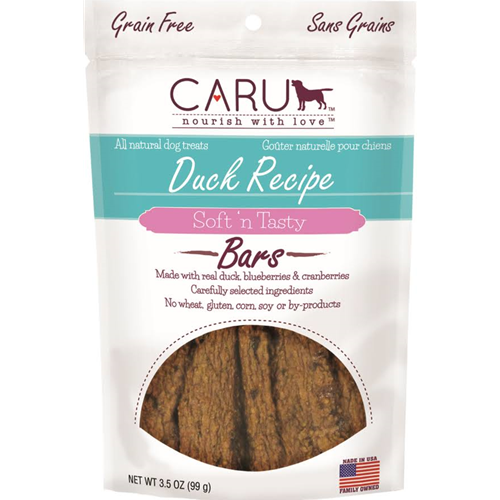 Caru Natural Duck Recipe Bars for Dogs