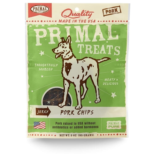 Primal Jerky Pork Chips Treat