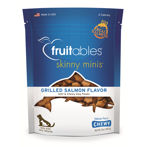 Fruitables - Skinny Minis Trainers Salmon Chewy Treat