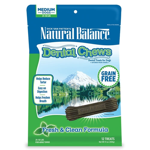 Natural Balance L.I.T. Fresh and Clean Dog Dental Chews