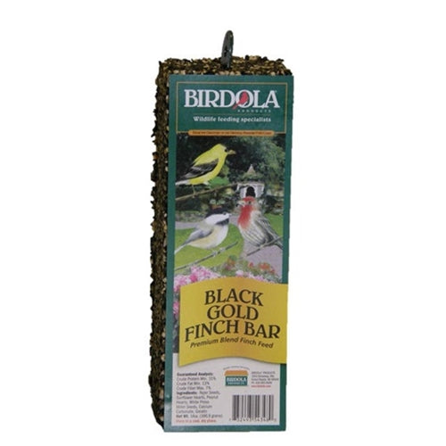 Birdola - Black Gold Finch Bar