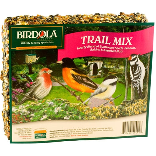 Birdola - Trail Mix Seed Cake