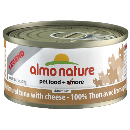 Almo Nature Legend Natural Tuna with Cheese Canned Food for Cats