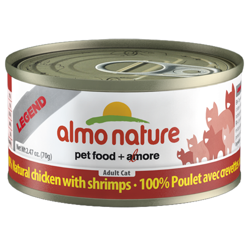 Almo Nature Legend Natural Chicken with Shrimp Food for Cats