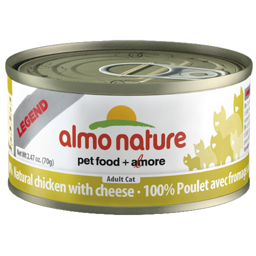 Almo Nature Legend Natural Chicken with Cheese Food for Cats