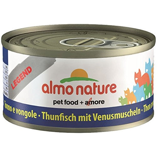 Almo Nature Legend Natural Tuna with Clams Canned Food for Cats