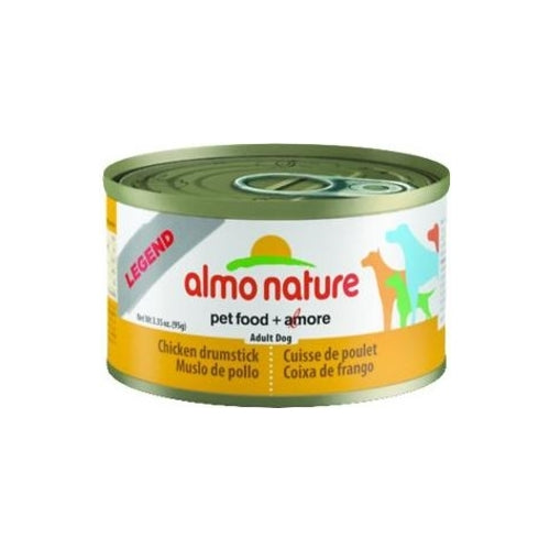 Almo Nature Legend Natural Chicken Drumstick Canned Food for Dogs