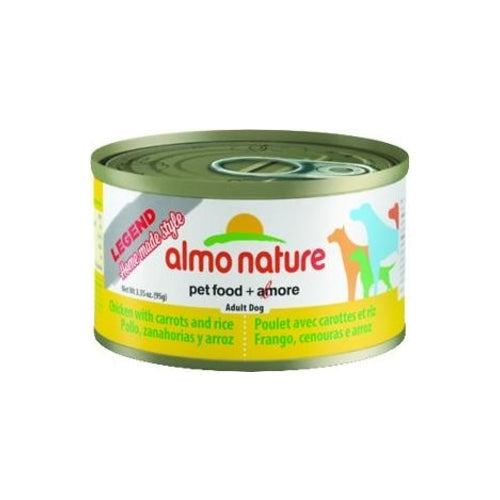 Almo Nature Legend Natural Chicken with Carrot Canned Food for Dogs