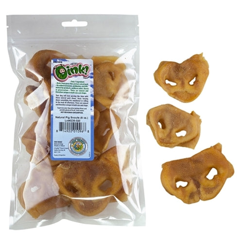 Free Range Dog Chews Oink! Pig Snouts