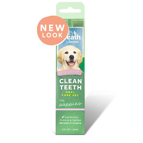 Tropiclean Fresh Breath Clean Teeth Gel for Puppies