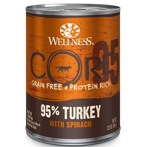 Wellness CORE Canned 95 Turkey and Spinach Formula