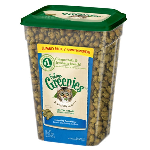 Greenies Tempting Tuna Dental Treats for Cats