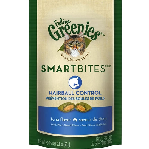Greenies Smart Bites Tuna Hairball Control Treats for Cats