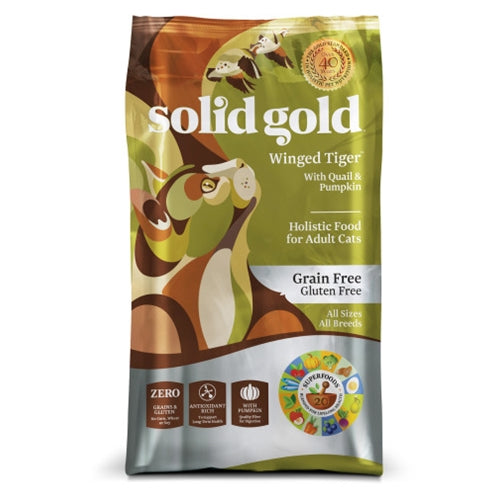 Solid Gold Grain Free Winged Tiger Dry Cat Food