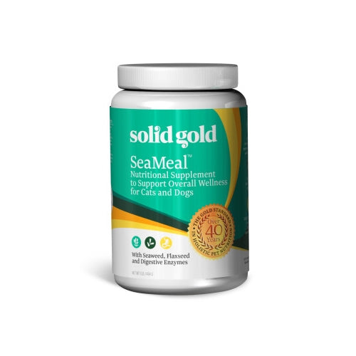 Solid Gold SeaMeal Powder Supplement for Dogs and Cats