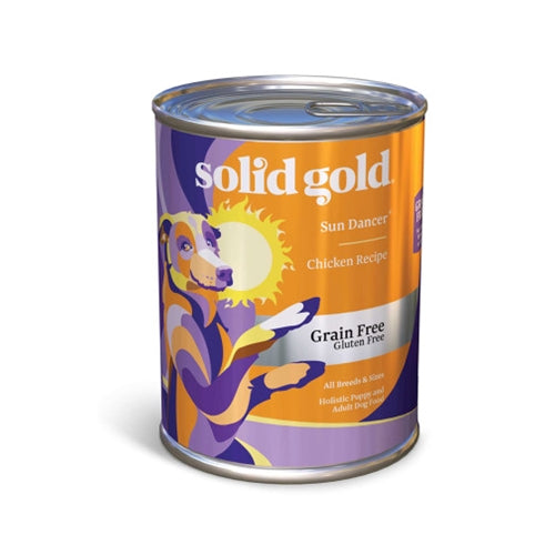 Solid Gold Grain Free Sun Dancer Canned Dog Food