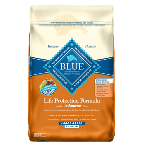 Blue Buffalo Life Protection Chicken Large Breed Senior Dog Food