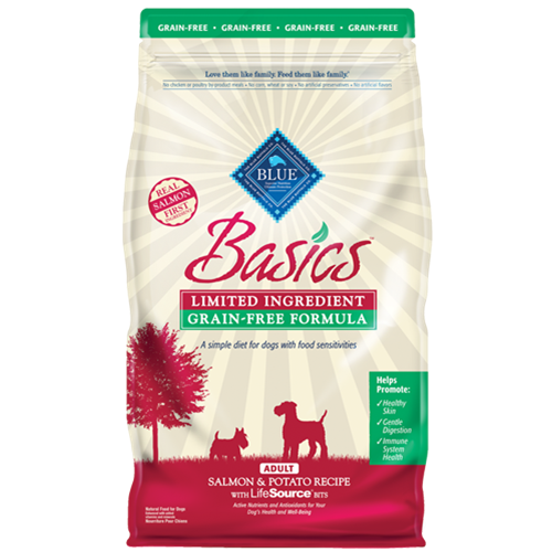 Blue Buffalo Basics Grain Free Salmon & Potato Dry Dog Food