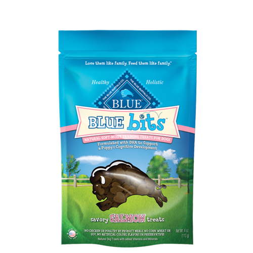 Blue Buffalo Blue Bits Salmon Soft and Moist Training Treats