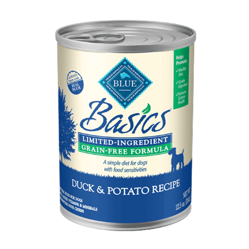 Blue Buffalo Basics Grain Free Duck & Potato Canned Dog Food