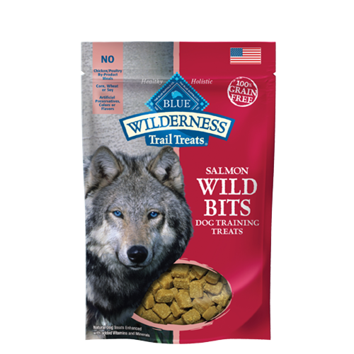 Blue Buffalo Wilderness Grain Free Wild Bits Dog Treats