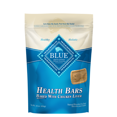 Blue Buffalo Blue Health Bars Baked With Chicken Liver