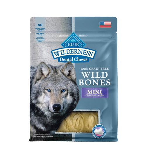 Blue Buffalo Wilderness Wild Bones Dental Dog Treat