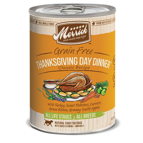 Merrick Thanksgiving Day Dinner Canned Small Breed