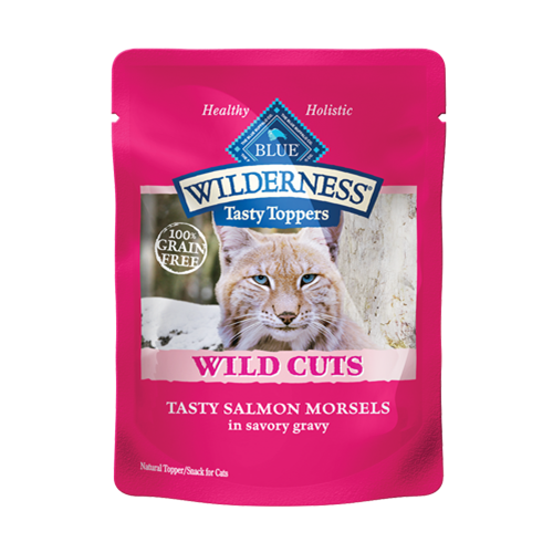 Blue Buffalo Wilderness Wild Cuts Salmon Topper Cat Food