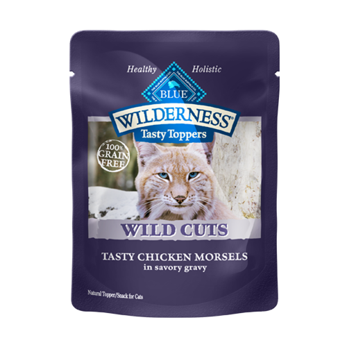 Blue Buffalo Wilderness Wild Cuts Chicken Topper Cat Food