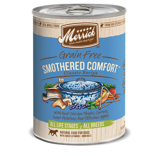 Merrick Smothered Comfort Can Dog Food