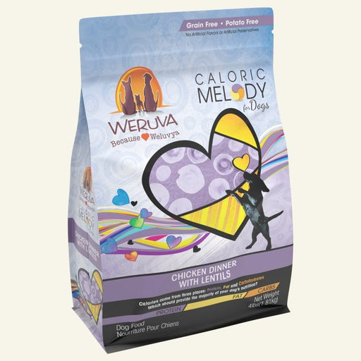 Weruva Caloric Melody Chicken Dinner with Lentils Dry Dog Food