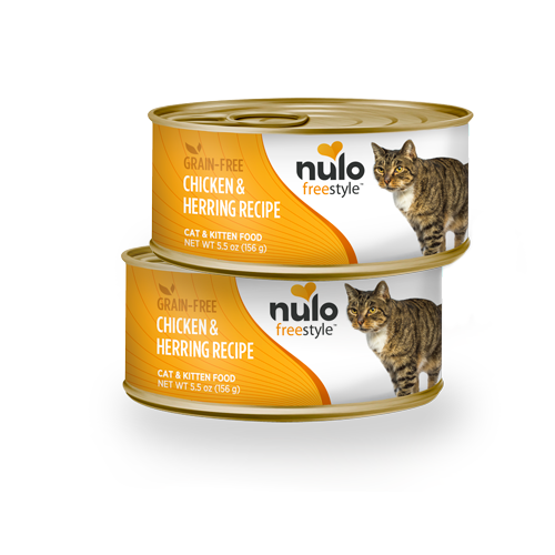 Nulo FreeStyle Grain Free Chicken and Herring Canned Cat Food