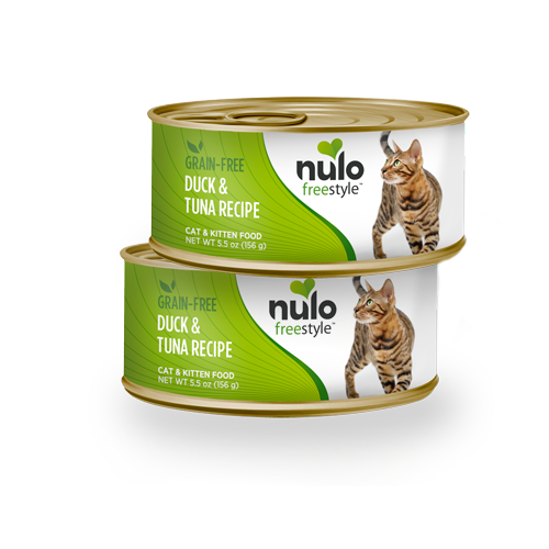 Nulo FreeStyle Grain Free Duck and Tuna Canned Cat Food