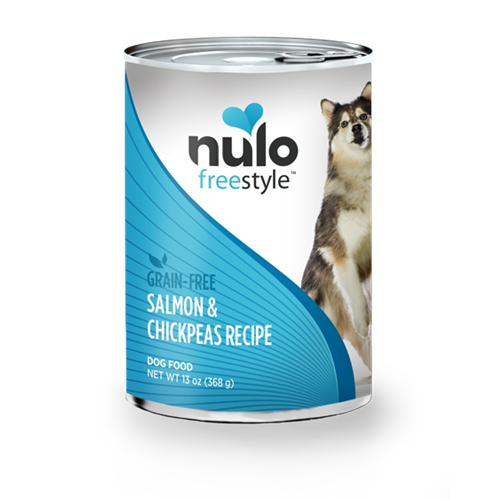 Nulo FreeStyle Grain Free Salmon and Chickpeas Canned Dog Food