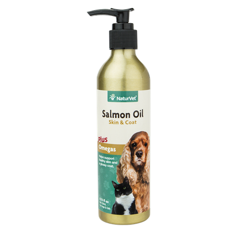 NaturVet Salmon Oil for Dogs and Cats