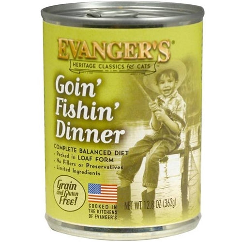 Evangers Classic Goin' Fishin' Dinner Canned Cat Food