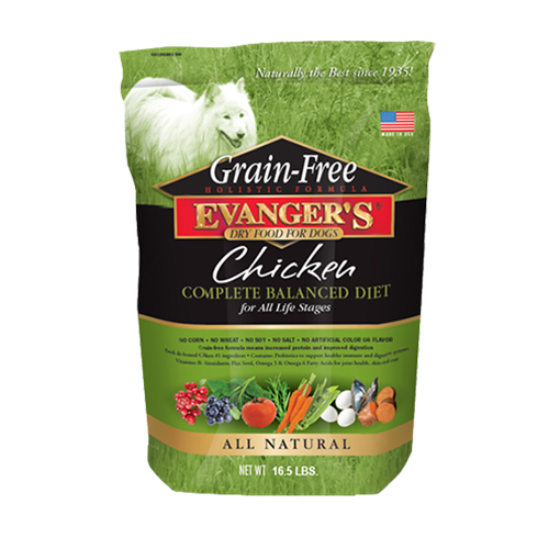 Evangers Grain Free Chicken with Sweet Potato & Pumpkin Dry Dog Food