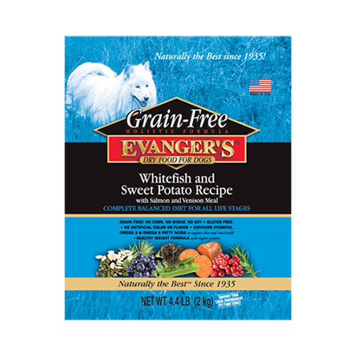 Evangers Grain Free Whitefish & Sweet Potato Dry Dog Food