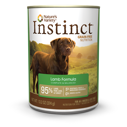 Nature's Variety Instinct Lamb Can Dog Food