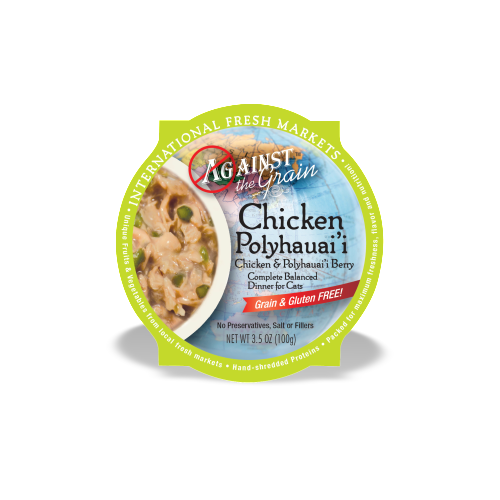 Against the Grain Chicken & Polyhauai'i Berry Dinner for Cats